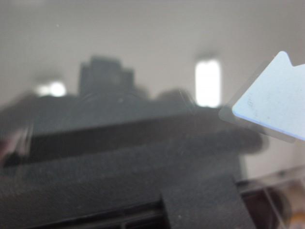フロント ガラス 飛び石 リペア