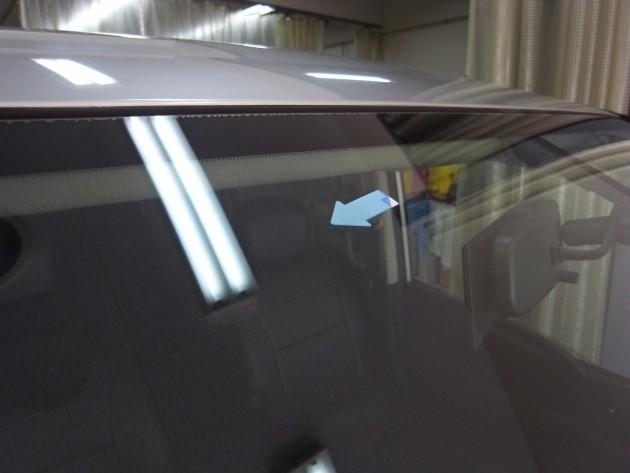 車 ガラス 修復
